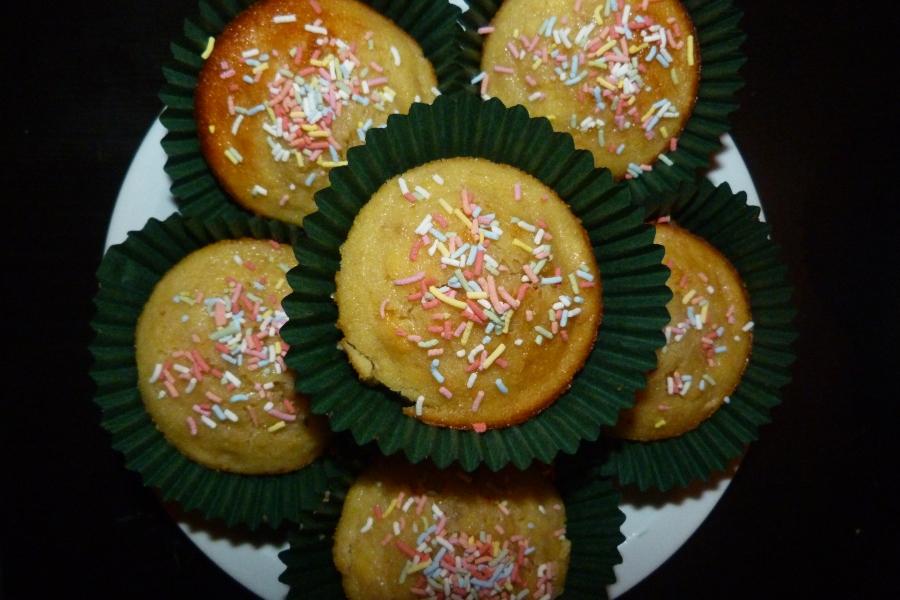 Muffins au Nutella et à labanane