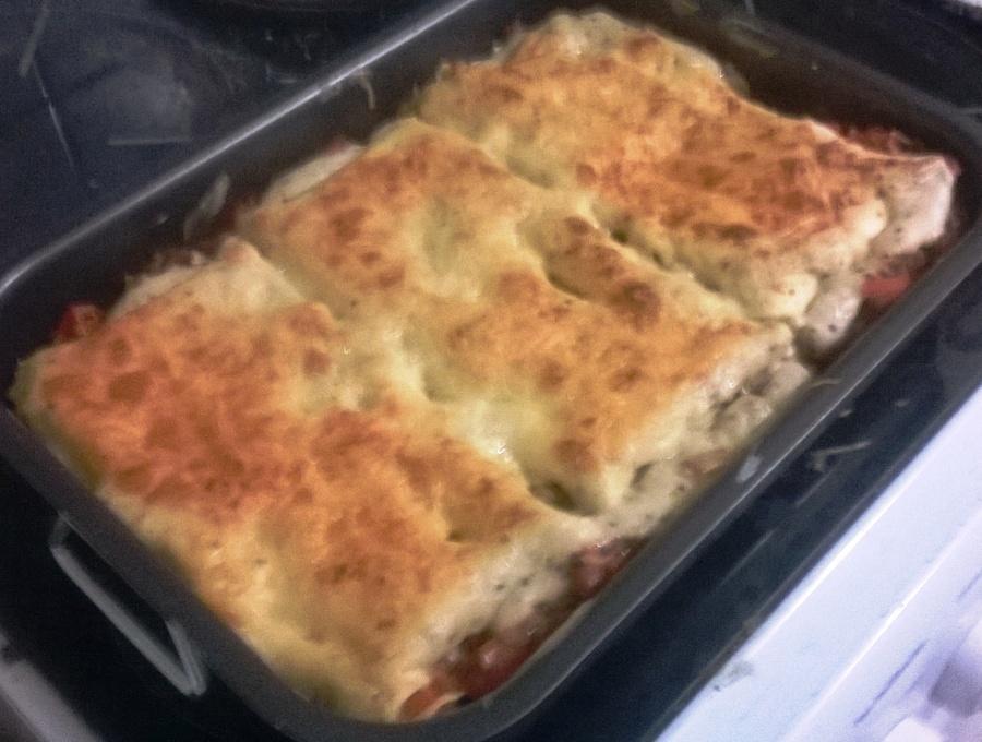 Lasagnes bolognaise-ricotta