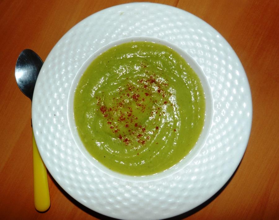 Parmentière, soupe poireaux-pommes deterre