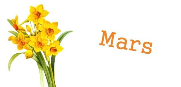 Recettes de fruits et légumes de saison(mars)