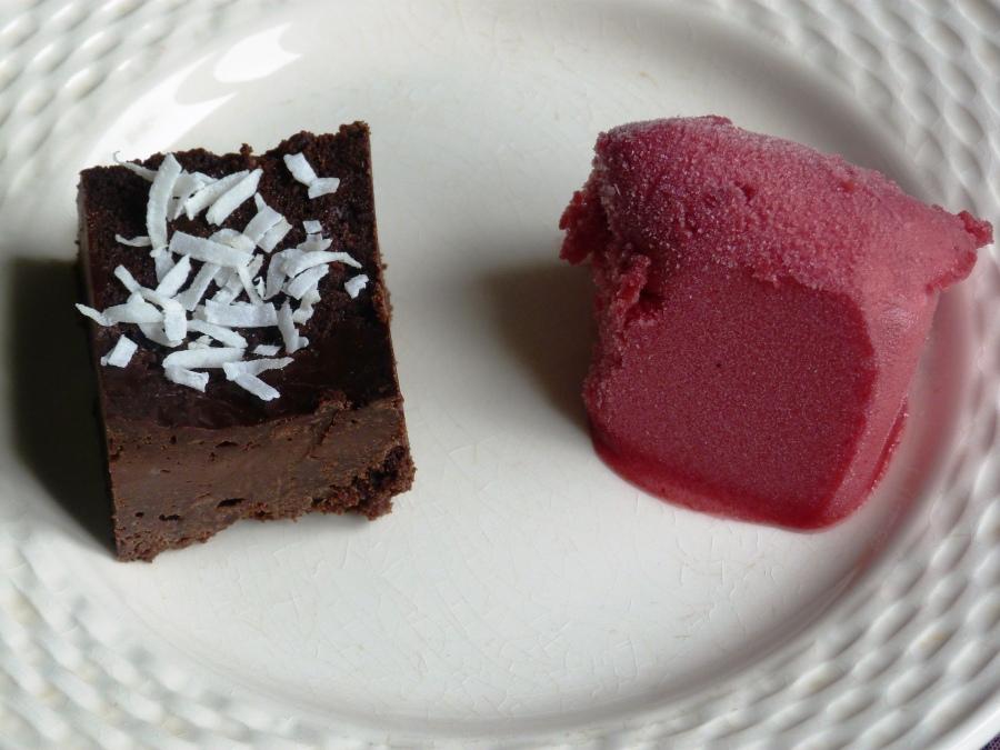 Gâteau au chocolatvegan