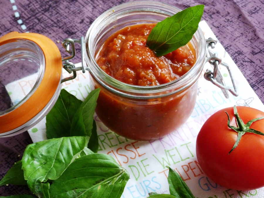 Gaspacho au poivron rougerôti