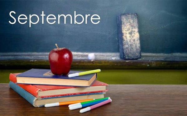 Recettes de fruits et légumes de saison(septembre)
