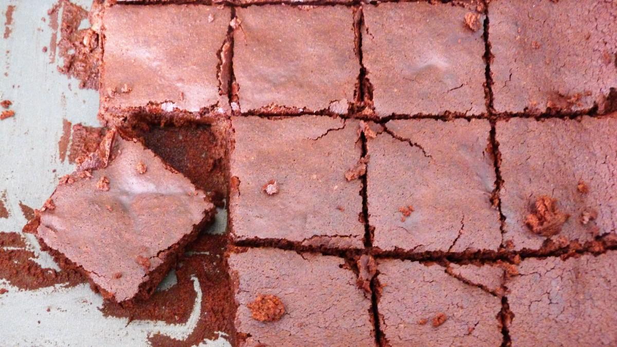 Maxi brownie très chocolaté IG bas
